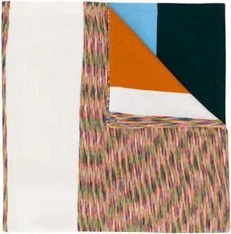 Missoni Block Color Knit Scarf