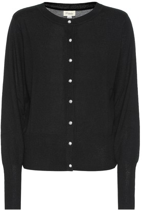 Temperley London Busby merino and cashmere cardigan
