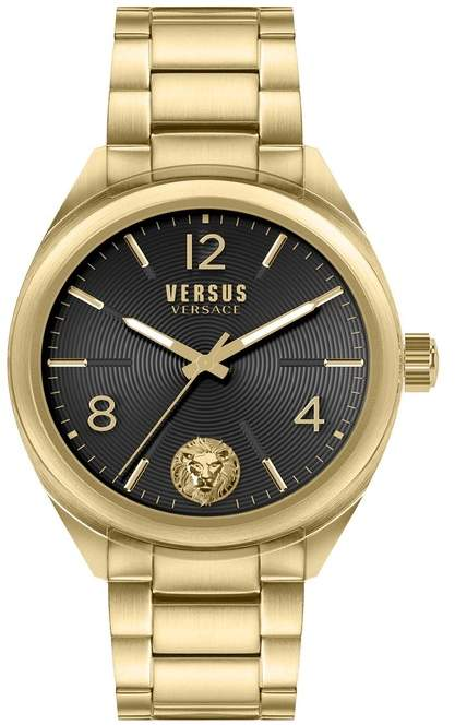 Versus Men's Lexington Black Watch, 44mm
