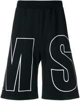 MSGM branded shorts