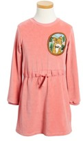 Mini Rodini Toddler Girl's Fox Applique Velour Dress