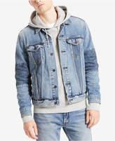 Levi's Men's Altrd Classic-Fit Pieced Stretch Denim Trucker Jacket