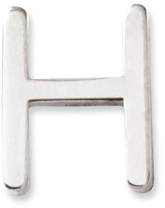 Maya Brenner Gold Letter Stud - H