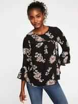 Old Navy Ruffle-Sleeve Swing Top for Women