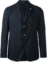 Tagliatore single breasted jacket - men - Cupro/Virgin Wool - 48
