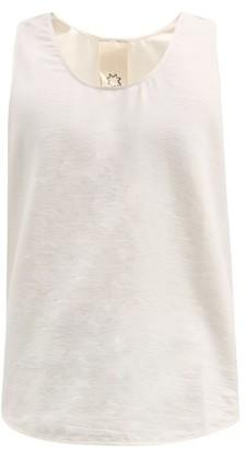 Marrakshi Life - Cotton-blend Tank Top - Cream