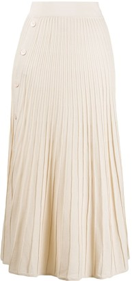 Pinko Knitted Pleated Skirt