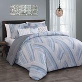 Steve Madden Vega 6-Piece Queen Comforter Set in Taupe