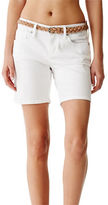 G by Guess GByGUESS Women's Talila Denim Bermuda Shorts