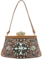Valentino Bead-Embellished Satin Handle Bag