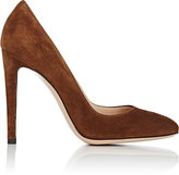 Gianvito Rossi Women's Roma Pumps-BROWN