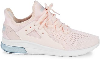 Puma Electron Street Lace-Up Mesh Sneakers