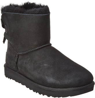 UGG Women's Mini Bailey Bow Ii Water-Resistant Suede Boot