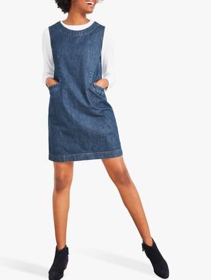 White Stuff Lothbury Denim Mini Dress, Blue