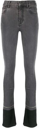 Ssheena Contrast Hem Skinny Jeans