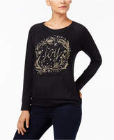 Style&Co. Style & Co Petite Embroidered Sweatshirt, Created for Macy's