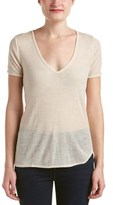 Zadig & Voltaire Tino Rib Wool-blend T-shirt.