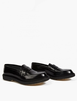 Adieu Black Leather Type 5 Loafers