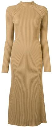 Anna Quan Mabel mock-neck ribbed-knit dress