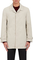 Isaia MEN'S LIGHTWEIGHT TRENCH COAT-TAN SIZE S