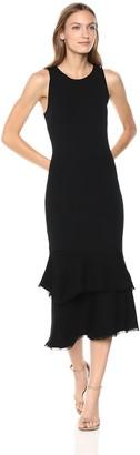 Theory Women's Sleeveless NILIMARY MIDI Dress