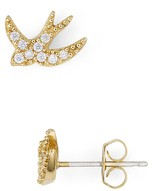 Marc Jacobs Pavé Swallow Single Stud Earring