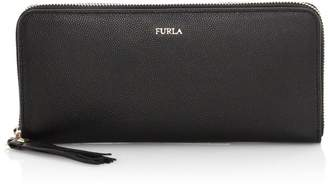 Furla Extra-Large Mimi Zip-Around Leather Wallet