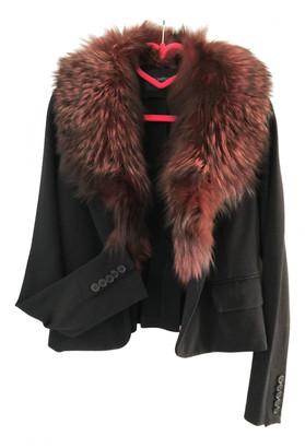 Flavio Castellani Burgundy Fox Jackets
