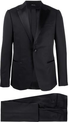 Ermenegildo Zegna Satin-Lapel Tuxedo Suit