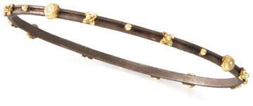 Armenta Oxidized Crivelli Station Bracelet