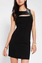 BB Dakota Mai Vegan Leather-Top Dress