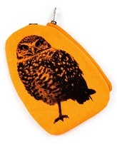 Areaware Fauna Owl Pouch - Orange