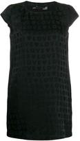 Love Moschino satin-jacquard mini dress