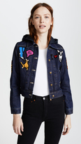 Michaela Buerger I Love My Dog Denim Jacket