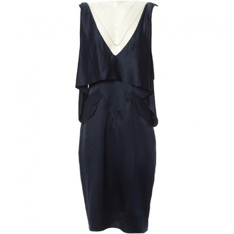 Alexander Wang Navy Silk Dresses