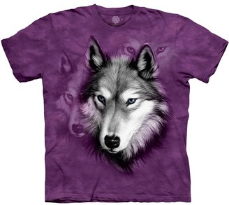 The Mountain Wolf Portrait Adult T-Shirt