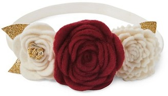 Elegant Baby Baby Girl's 3-Flower Headband