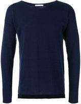 Societe Anonyme asymmetric hem pullover - men - Cotton - 1