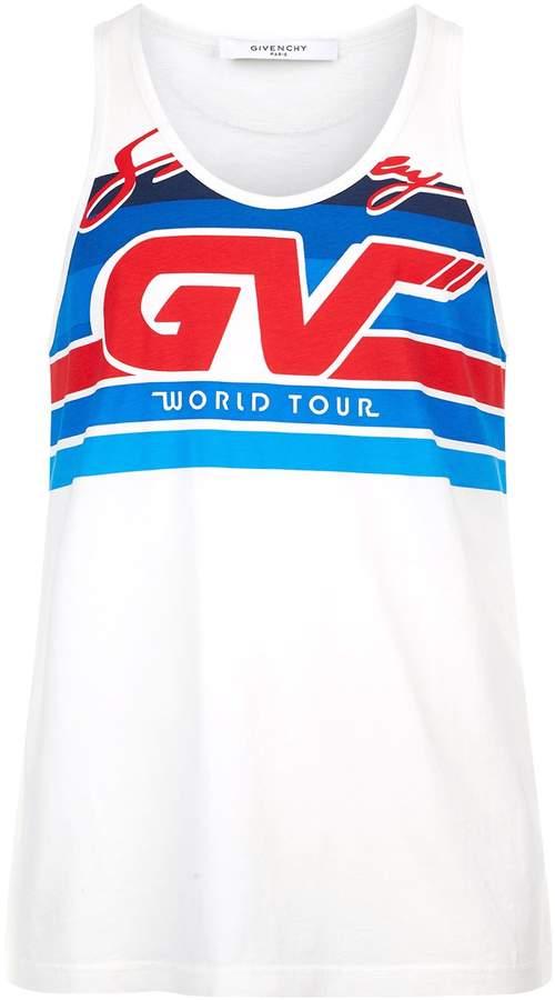 Givenchy Motocross Logo Vest