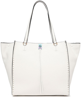 Rebecca Minkoff Irisdescent-effect Textured-leather Shoulder Bag