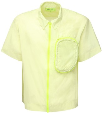 Nylon Shirt W/ Pocket