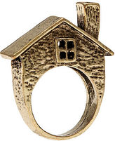 *MKL Accessories The Brick House Ring in Gold