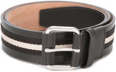 Bally striped belt - men - Calf Leather - 90