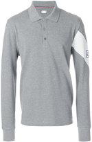 Moncler Gamme Bleu long-sleeved polo shirt
