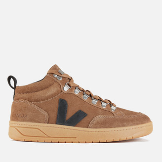 Veja Women's Roraima Suede Hiking Style Boots - Brown/Black/Natural
