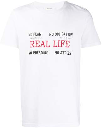 Zadig & Voltaire Zadig&Voltaire Tibo real life T-shirt