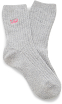 Hansel from Basel M'O Exclusive Monogrammable Ribbed Cashmere Socks