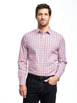 Old Navy Slim-Fit Non-Iron Signature Stretch Dress Shirt for Men