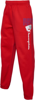 Champion Super Fleece Behind The Label 2.0 Pants - Scarlet