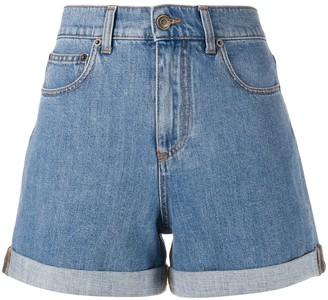 Philosophy di Lorenzo Serafini Happy fitted denim shorts